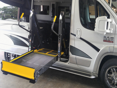 Wheel Chair Lift 2017 Dodge Pro Master