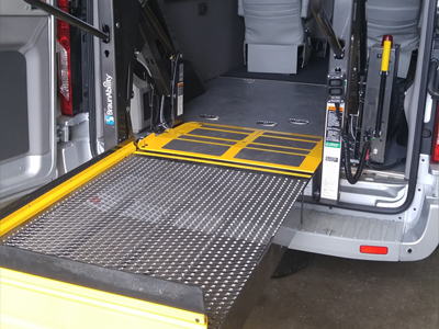 Braun Lift in Ford Transit